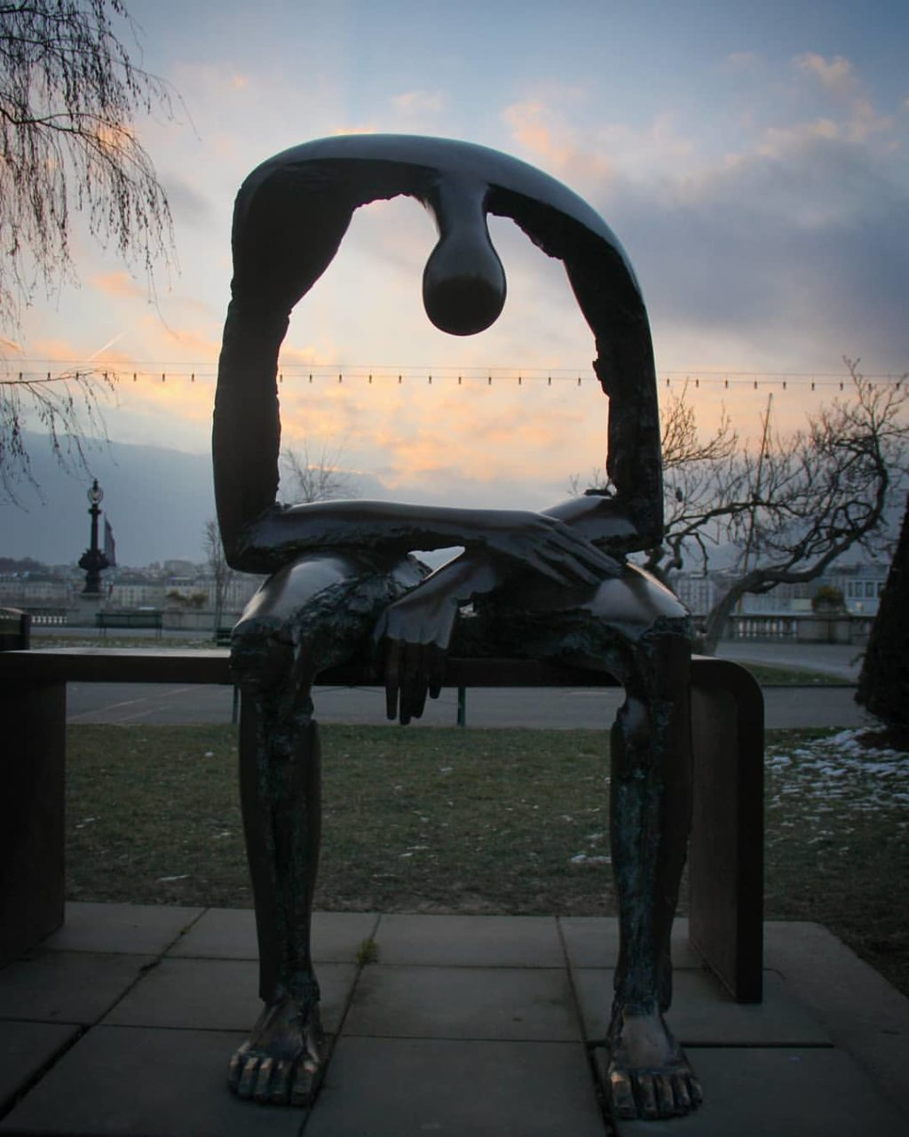 Sculpture Albert Gyorgy